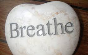 Taking a couple of deep, cleasing breaths can make most conversations more controlled.  Try it all during the day.