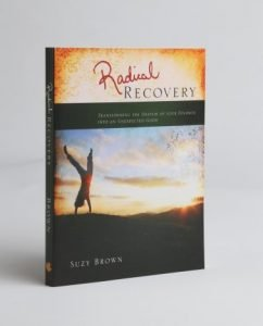 photo of the book Radical Recovery Transforming the Despair of Your Divorce into an Unexpected Good by Suzy Brown